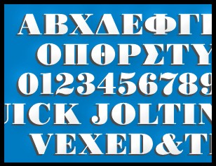GREEK fonts w/ENGLISH too!!!